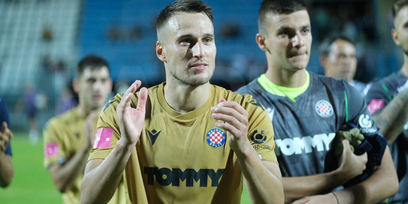 Josip Vuković: Ovo je moj prvi gol za Hajduk, ispunio mi se još jedan san