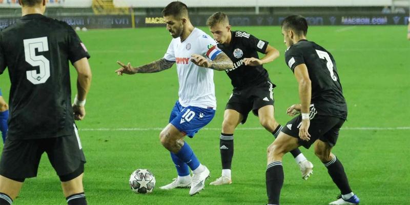 Zagreb: H. dragovoljac - Hajduk 0-1