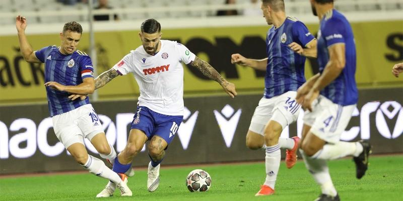 Split: Hajduk - Lokomotiva 1:0