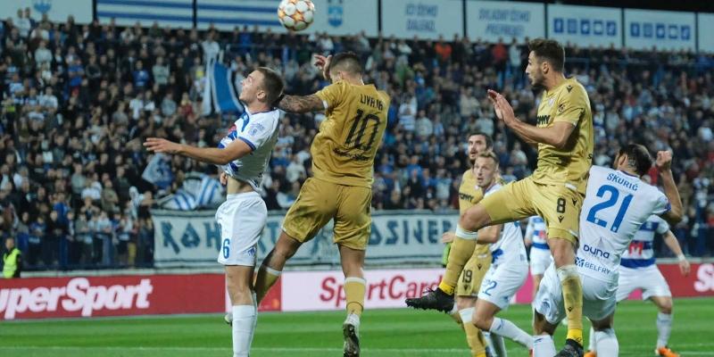 Osijek: Osijek - Hajduk 1:1